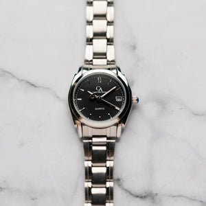 New Christyan Arden ICARUS CA-001C - Around The World Edition - Black Dial (Wanita)