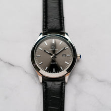 Load image into Gallery viewer, Christyan Arden ARISTOTLE CA-0006 - Around The World Edition - Grey Sunburst Dial - Black Strap (Pria)