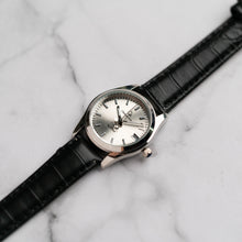 Muat gambar ke penampil Galeri, Christyan Arden ARISTOTLE CA-0006 - Around The World Edition - Silver Sunburst Dial - Black Strap (Wanita)