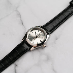 Christyan Arden ARISTOTLE CA-0006 - Around The World Edition - Silver Sunburst Dial - Black Strap (Wanita)