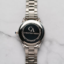 Load image into Gallery viewer, New Christyan Arden ARISTOTLE CA-0006C - Around The World Edition - Grey Sunburst Dial (Pria)