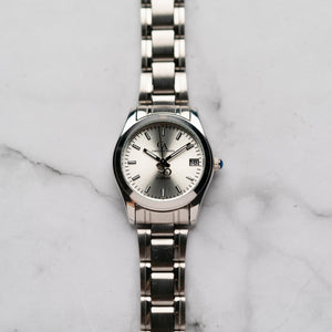 New Christyan Arden ARISTOTLE CA-0006C - Around The World Edition - Silver Sunburst Dial (Wanita)
