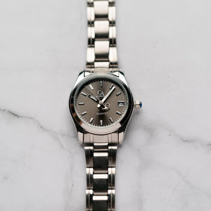 New Christyan Arden ARISTOTLE CA-0006C - Around The World Edition - Grey Sunburst Dial (Wanita)