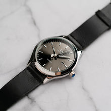 Load image into Gallery viewer, New Christyan Arden ARISTOTLE CA-0006 - Around The World Edition - Grey Sunburst Dial - Black Strap (Pria)