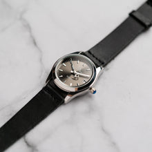 Load image into Gallery viewer, New Christyan Arden ARISTOTLE CA-0006 - Around The World Edition - Grey Sunburst Dial - Black Strap (Wanita)