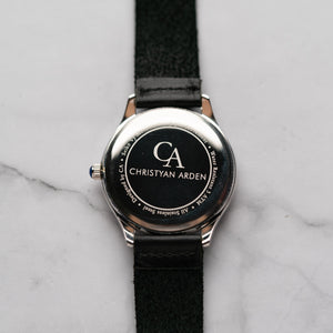 New Christyan Arden NYKE CA3101 - Around The World Edition - Black Dial - Black Strap (Pria)