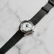 Muat gambar ke penampil Galeri, New Christyan Arden FALANA CA3212 - Around The World Edition - White Dial - Black Full Grain Strap (Wanita)