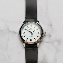 Load image into Gallery viewer, New Christyan Arden AVA CA3215 - Around The World Edition - White Dial - Black Full Grain Strap (Pria)