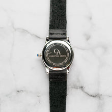 Load image into Gallery viewer, New Christyan Arden LANDER CA-0005 - Around The World Edition - Black Dial - Black Full Grain Strap (Wanita)