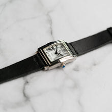 Load image into Gallery viewer, New Christyan Arden CAESAR CA-0033 - Around The World Edition - White Dial - Black Full Grain Strap (Wanita)