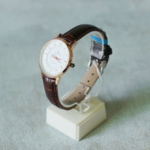 Load image into Gallery viewer, Christyan Arden Full Grain Leather CA0014 Brown - White Dial (Wanita)
