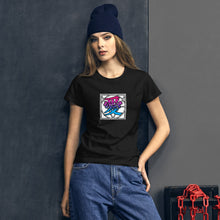 "Load image into Gallery viewer, 愛 AI ""Love"" Women's Premium T-Shirt"