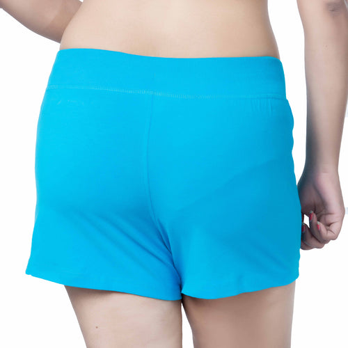 Ladies Drawstring Cotton Shorts