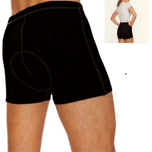 Unisex Padded Cycling Compression Shorts
