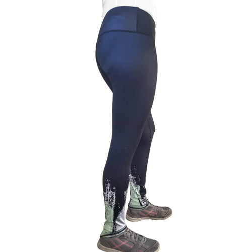 Ladies Compression Tights With Digital Prints