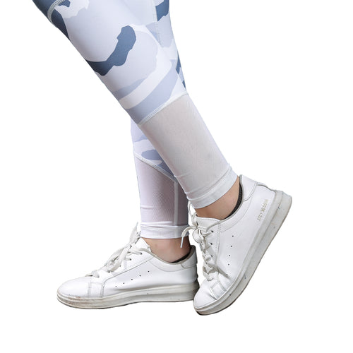 Junior Womens Camouflage Printed Leggings