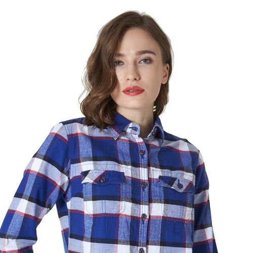 Womens Flannel Cotton Shirt