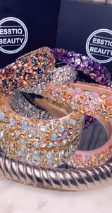 Headbands /Crown with Large Crystal Embellishments