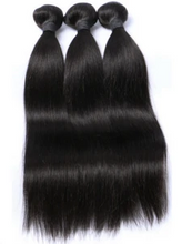 Load image into Gallery viewer, Frontal Swiss Lace Straight + Virgin Straight Hair