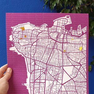 Bespoke Beirut Map