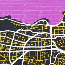 Load image into Gallery viewer, Beirut Beiti Map