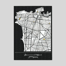 Load image into Gallery viewer, Bespoke Beirut Map