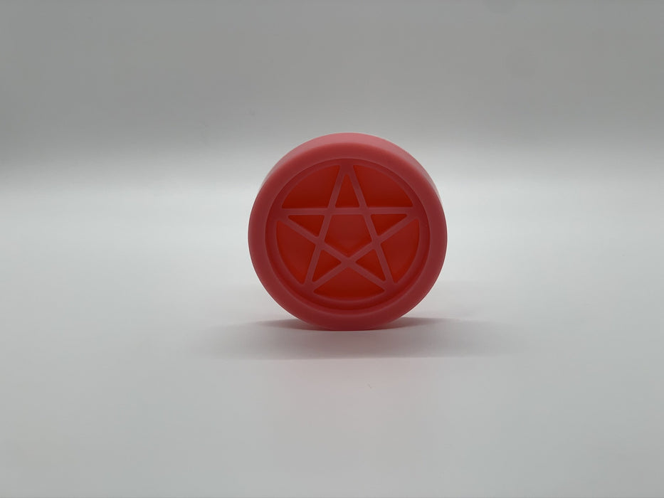 Phone grip 3D silicone mold | Pentagram | Badge feel mold