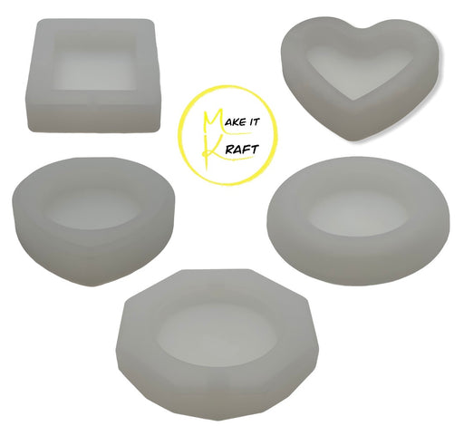 Shop Ashtray Silicone Molds for Resin Casting Ashtray - Make It Kraft