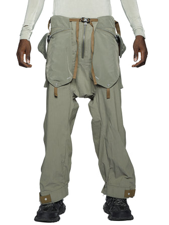 LAYERED PANEL CARGO PANTS