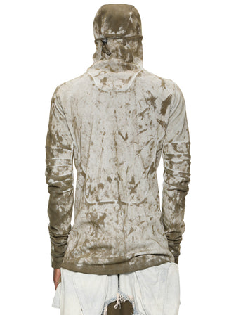 HOOD-MASK PULLOVER / CAMO