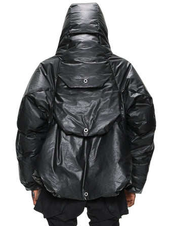 THE ZERGING MANTA CARGO down JACKET