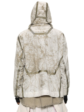 Arctic Forest Camo windbreaker w/ taped seams