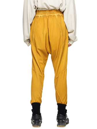 GEO-CUT LOUNGE PANTS - DYED