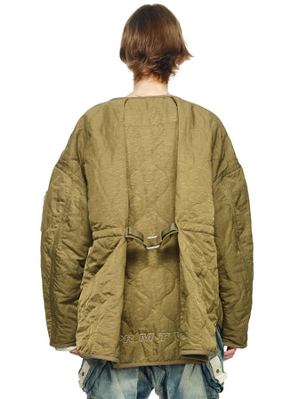 """THE LONE LUMBERER"" PADDED UTILITY COAT - HAMCUS"