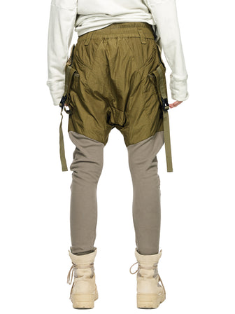 PADDED MILITARY UTILITY GEO-CARGO PANTS