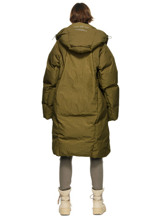 """DARSTRONAUT"" GEO-CUT OVERSIZED DOWN-QUILTED PUFFER - HAMCUS"