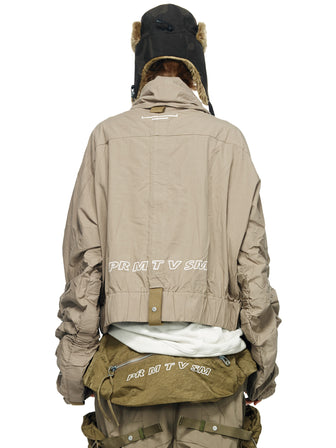 """PMU STANDARD""  STRAPS ADJUSTABLE FIELD PULLOVER W / FUNNEL COLLAR"