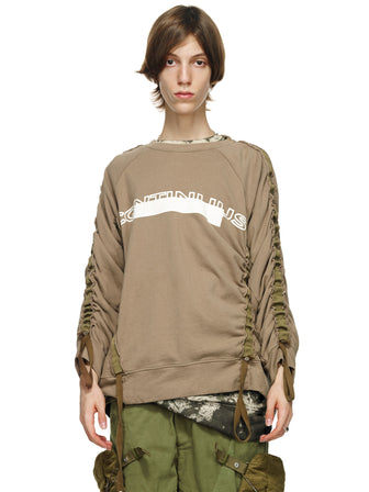 STRAPS-SNAPS ADJUSTABLE PRINTED PULLOVER
