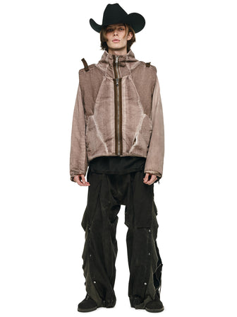 ARCTIC MANTA QUILTED MULTIFORM JACKET / COAT / JUMPSUIT