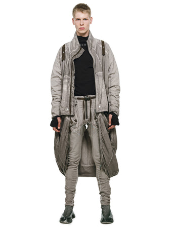 ARCTIC MANTA QUILTED MULTIFORM JACKET / COAT / JUMPSUIT - HAMCUS