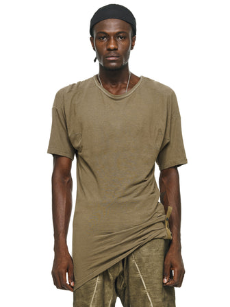 ADJUSTABLE SNAP-STRAPS TWISTED T-SHIRTS - HAMCUS