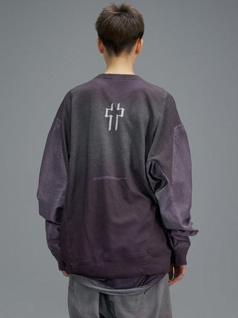 """ADAM"" WINDBREAKER SLEEVES PULLOVER / NIGHTSHADE - HAMCUS"