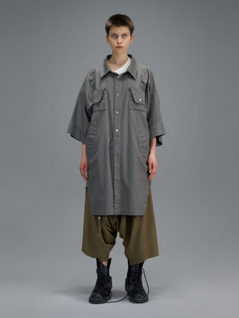 1901 SEASON EDITION PRINTED LONG COMMUTER SHIRTS - HAMCUS