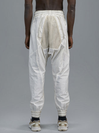 PERFORATED NET KANGAROO POCKET WB TROUSERS - HAMCUS