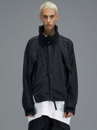 CONCEALED KANGAROO POCKET WINDBREAKER