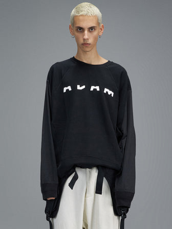 """ADAM"" WINDBREAKER SLEEVES PULLOVER - HAMCUS"