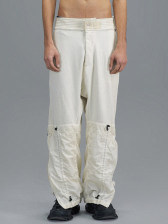 DOUBLE LEG LAYERED LOUNGE PANTS-DIP DYED