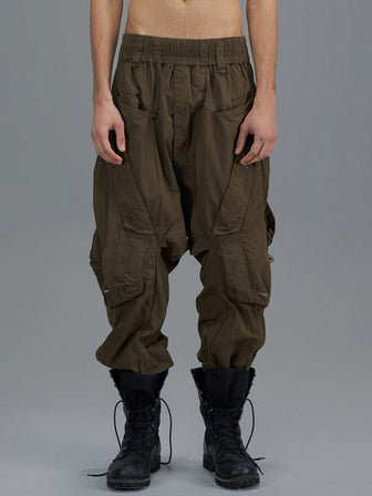 MILITARY GEO-POCKETS JOGGER PANTS