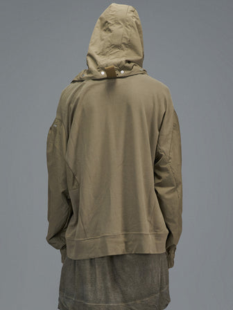 """LUMBERER"" WB-SLEEVES SNAP-ON-HOODIE / PULLOVER"