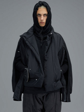 SPLIT SLEEVE PADDED JACKET